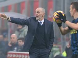 Stefano Pioli, tecnico dell'Inter. Getty