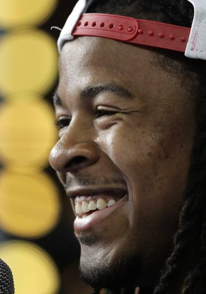 Devonta Freeman degli Atlanta Falcons. Ap