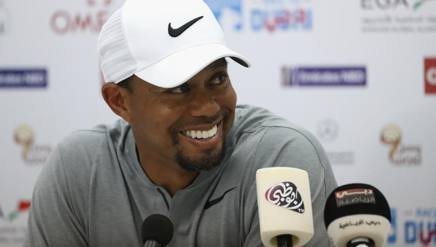 Tiger Woods, 40 anni. Getty Images