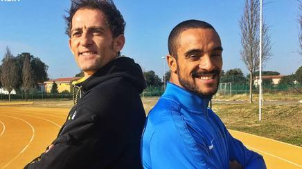 Fabrizio Donato, 40 anni, e Andrew Howe, 31