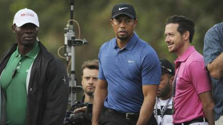 Tiger Woods, 41 anni AP