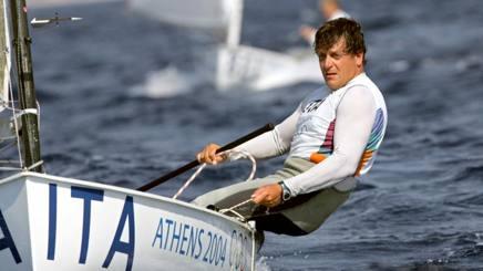 Michele Marchesini  versione finnista ai Giochi di Atene