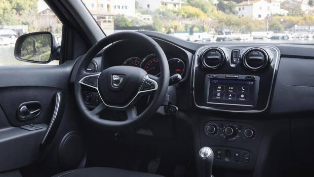 Dacia sandero stepway look pi curato stessa for Dacia duster 2017 interni