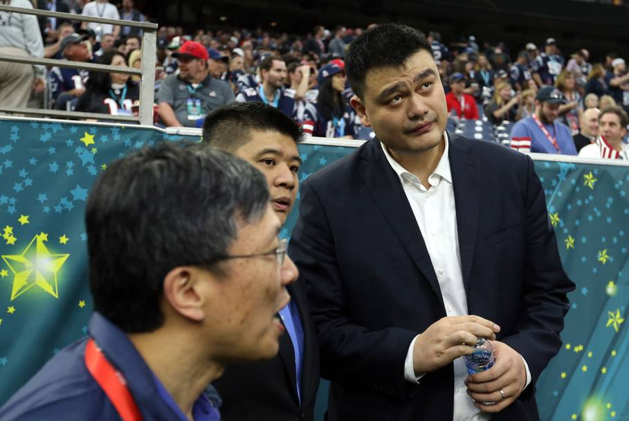 Il campione cinese Yao Ming. (Reuters)