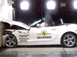 Un crash test per omologazione Euro NCAP