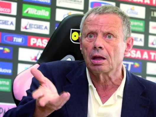 Maurizio Zamparini, 75 anni