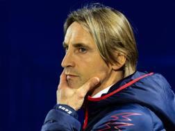Davide Nicola, 43 anni, allenatore del Crotone. Ansa