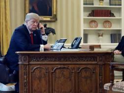 Il presidente americano Donald Trump e Jared Kushner. Reuters