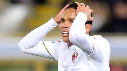 Carlos Bacca, seconda stagione al Milan. Ansa