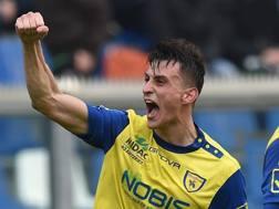 Inglese, attaccante del Chievo. Getty Images