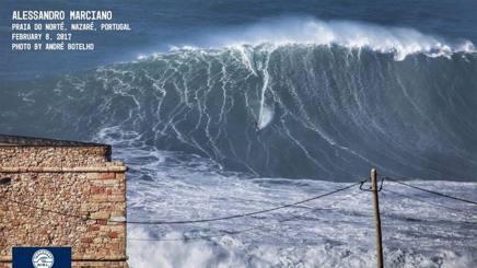 L'onda che è stata surfata da Alessandro Marcianò
