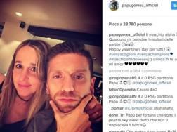 L'ironico post di Papu Gomez su Instagram
