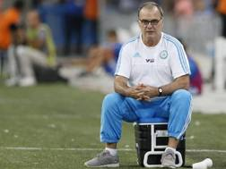 Il tecnico argentino Marcelo Bielsa, 61 anni. Epa