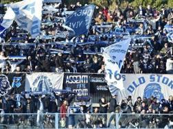 La Curva dei tifosi del Pescara