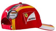 Il nuovo cappellino di Vettel per il 2017