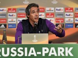 Il tecnico della Fiorentina Paulo Sousa. Ap