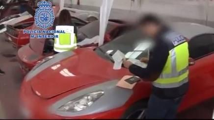 Il sequestro di false Ferrari in Spagna