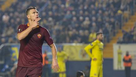 Edin Dzeko, 30 anni. Getty