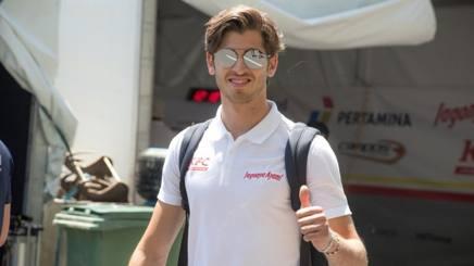 Antonio Giovinazzi, terzo pilota della Ferrari
