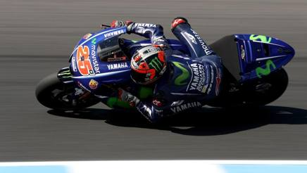 Maverick Vinales, prima stagione alla Yamaha. Getty