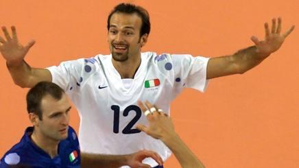 Mirko Corsano, libero con la maglia della Nazionale AP