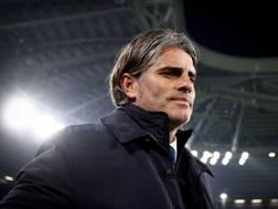 Diego Lopez, allenatore del Palermo. LaPresse
