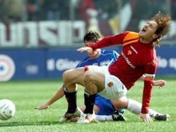 L'intervento di Richard Vanigli su Francesco Totti nel 2006