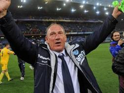 Il nuovo tecnico del Pescara Zdenek Zeman, 69 anni. Ansa