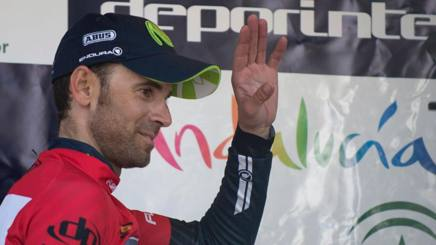 Alejandro Valverde, 36 anni. AFP