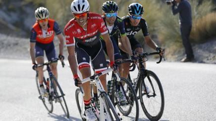 Alberto Contador, 34 anni, attacca alla Ruta del Sol. Bettini