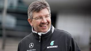 Ross Brawn, ora dirigente di Liberty Media. Epa