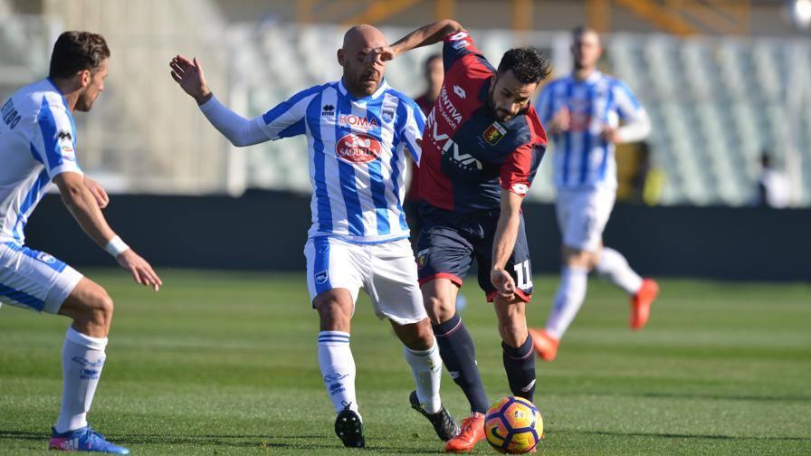 Pescara-Genoa 5-0, il tabellino