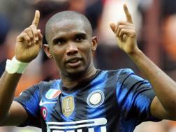Samuel Eto'o, ex attaccante dell'Inter. Reuters