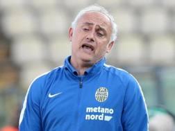 Andrtea Mandorlini, allenatore del Genoa. Ansa