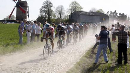 Una scorsa edizione della Roubaix