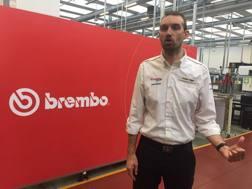 Andrea Algeri, 37 anni, tecnico Brembo in F.1 dal 2010