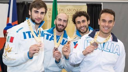 Gli azzurri col bronzo di Vancouver