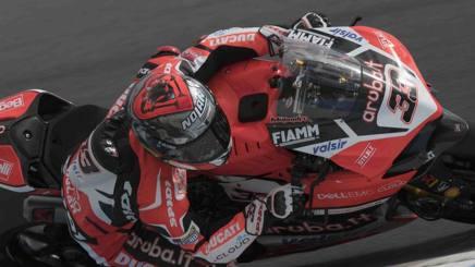 Marco Melandri su Ducati