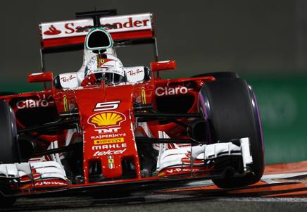 Sebastian Vettel, 29 anni GETTY IMAGES