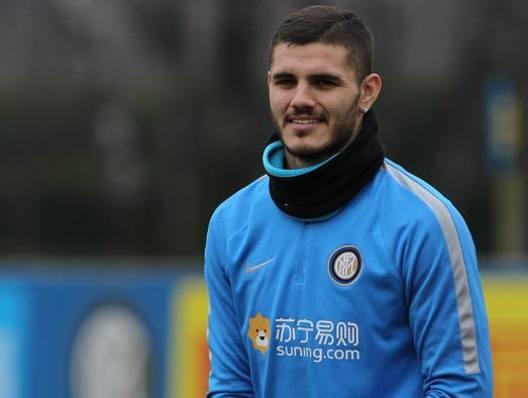 L'attaccante dell'Inter Mauro Icardi, 23 anni. Getty