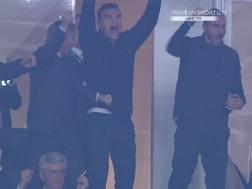 Bonucci esulta al gol del 2-0. Premium