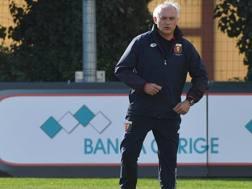 Il tecnico del Genoa Andrea Mandorlini. Ansa