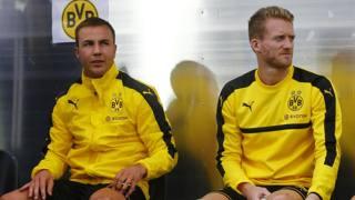 Da sinistra, Mario Götze, 24 anni, e André Schürrle, 26, attaccanti del Borussia Dortmund. Action Images