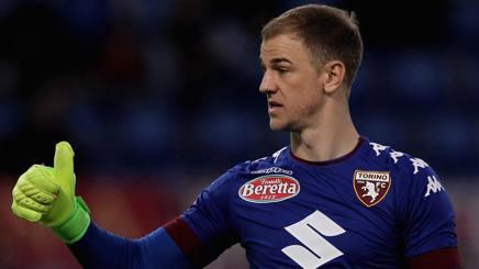 Joe Hart, portiere del City, in prestito al Torino. Getty Images