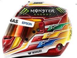 Il disegno del casco di Lewis Hamilton per il 2017
