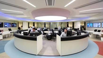 L'ufficio centrale de La Gazzetta dello Sport