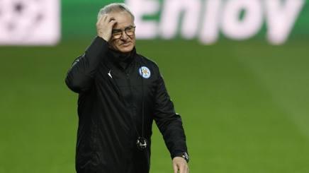Il tecnico Claudio Ranieri. AI