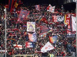 I tifosi del Genoa. Lapresse