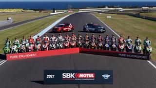I protagonisti del Mondiale 2017 della Superbike al via in Australia