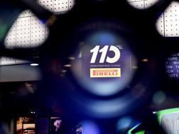 Una foto dell'evento di Torino della scorsa settimana in cui sono state presentate le gomme 2017: 110 sono gli anni di attività sportiva del marchio   ANSA